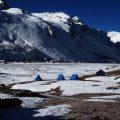 Zelten in 5000+ Metern