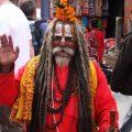 Holy men in Kathmandu