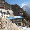 The Thame monastery (4000m)